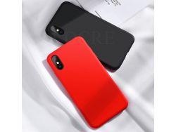 Силиконовый чехол Xiaomi Redmi 9A Красный}